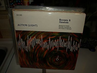 BOOSEY AND HAWKES SOUND EFFECTS action vinyl album