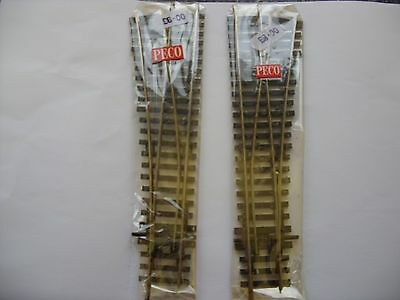 Peco Left And Right Hand Points Oo Gauge