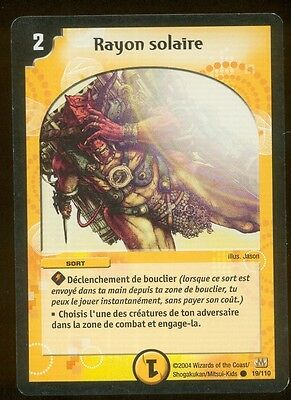 Duel Masters n° 19/110 - Rayon solaire