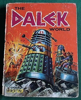 BOOK The Dalek World Hardback Annual 1965 Doctor Who UNCLIPPED