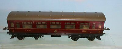 Hornby Series No 2 Lms Coach 3888 1St 3Rd Class Nut And Bolt Construction