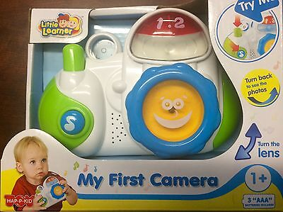 Little Learner My First Camera Creative Toy Preschool Kids Toddler New