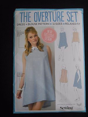 Dress + Blouse Pattern    11 Sizes    Relaxed Fit    Simply Sewing