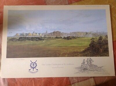 The Links Clubhouse At St Andrews By Kenneth Reed