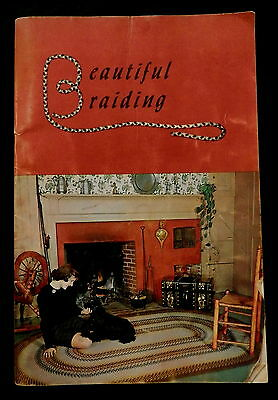 BEAUTIFUL (Rug) BRAIDING by DOROTHY PARKS PUTNAM 1960 FIRST EDITION