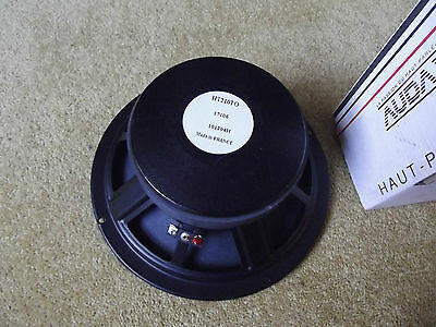 "Three Audax HT210TO 8"" 8 Ohm High Sensitivity Mid Drivers New Boxed"