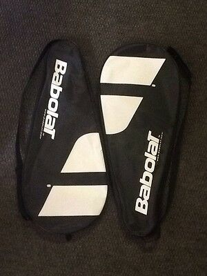 2 x Babolat fully padded tennis racket cover