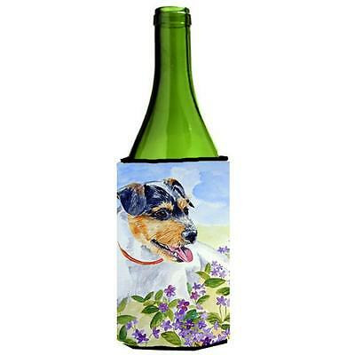 Carolines Treasures Jack Russell Terrier Wine bottle sleeve Hugger 24 oz.