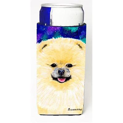 Carolines Treasures Pomeranian Michelob Ultra bottle sleeve for Slim Can
