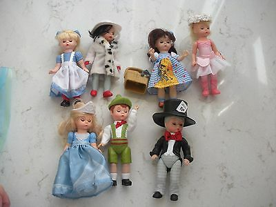 7 McDonald's Madame Alexander dolls Dorothy pink fairy Alice