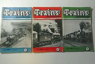 Old railway magazines, Trains Illustrated