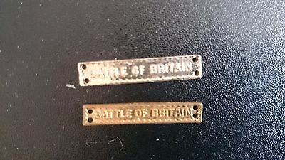 WW2 battle of britain clasps for the 1939 - 45 star medal