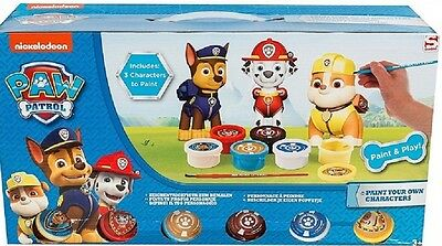 Sh4269 Paw Patrol Paint Your Own Figures Pack Of 3