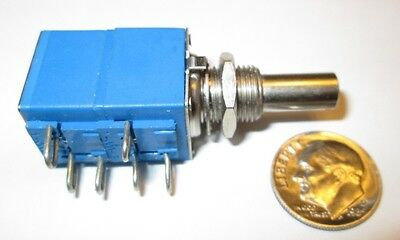 "Bourns Dual  Potentiometer 100K - 100K Ohm Linear Taper 5/8"" Sq. Nos"