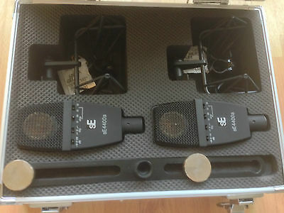 SE electronics 4400a Stereo Pair In Flight Case - FREE UK POSTAGE
