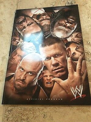 WWE Official Programme 2014