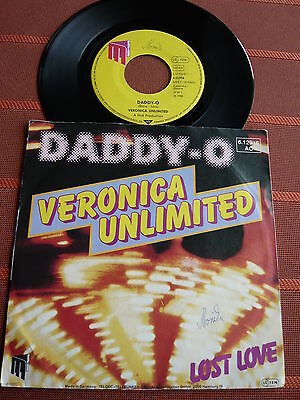 """Single 7"""" Veronica Unlimited – Daddy-O – Pop 1980er - TOP Zustand"""
