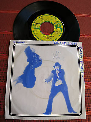 """Single 7"""" Marshall, Hain – Dancing In The City – Pop 1978 - TOP Zustand"""