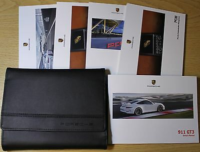 Porsche 911 Gt3 Handbook Owners Manual Wallet 2013-2015 Pack 3439 !