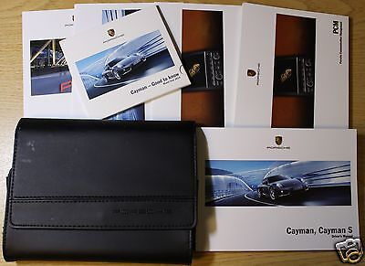 Porsche Cayman And Cayman S Handbook Owners Manual 2013-2015 Pack 788 !