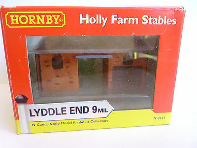 "Hornby Lyddle End N8014 ""Holly Farm Stables"".N Gauge"