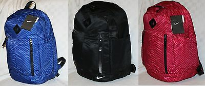 "Nike Auralux Training Backpack BA5242 Sonder Print, Authentic NWT 15"" Laptop"