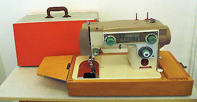 Janome Novum Deluxe Mark X Heavy Duty Leather Sail Canvas Sewing Machine