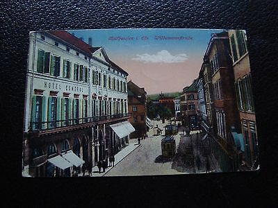 ALLEMAGNE - carte postale 1918 (muthaufen) (cy90) germany