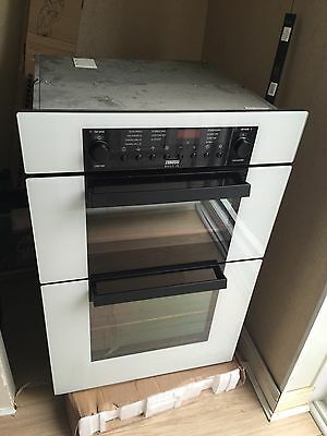 Zanussi Electric White Oven With Free Integrated Hob
