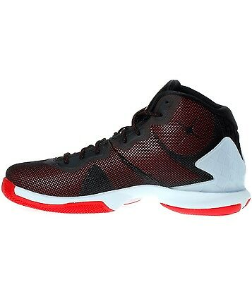 ba9ee014d23 NIKE JORDAN SUPER.FLY 4 Black/Gym Red White US Men Size 10 Style ...