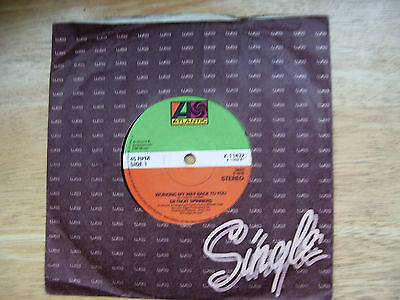 """DETROIT SPINNERS Working My Way Back To You / Disco Ride 1979 UK 7"""""""