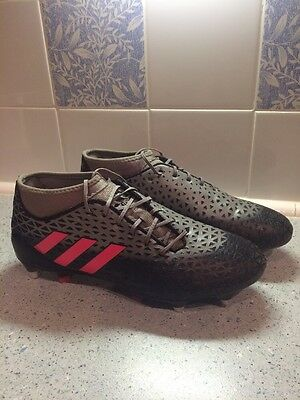 Adidas Adizero Malice SG (Core Black/Shock Red/Solid Grey) Size 9