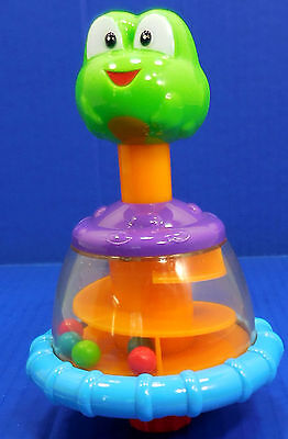 Bright Starts Bounce A Bout Activity Jumper Part Frog Push Twirling Toy 4851