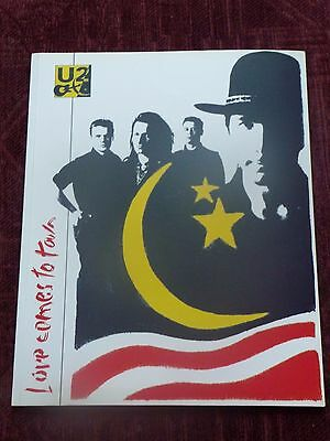U2 Love Comes to Town programme - ideal present for collector