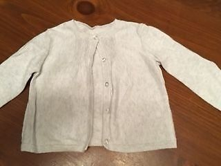 The Little White Company Baby Girls Cardigan 3 - 6 months VGC