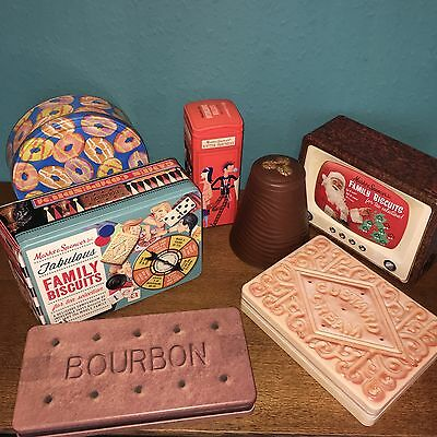 Vintage Collection Of Biscuit Tins