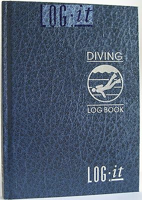 LOG-it Scuba DIVING Divers LOGBOOK Hard Back Cover for recording your DIVES