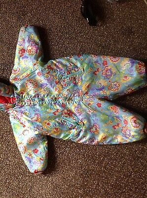 Oilily girls overalls coat jacket  size 86
