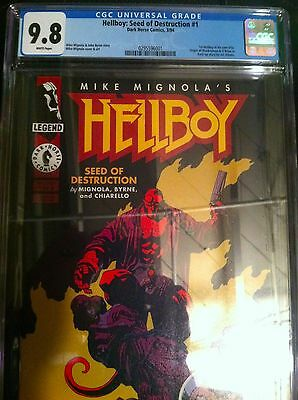 Hellboy: Seed of Destruction #1 - CGC 9.8 w/WHITE PAGES