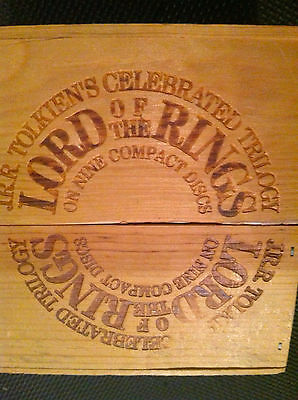 Lord of the Rings CD Collection - Wood Box Set