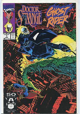Doctor Strange / Ghost Rider Special #1 (Apr 1991, Marvel), VF/NM
