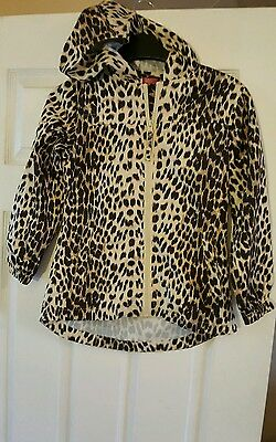 Lovely animal print lightweight jacket 7-8 years