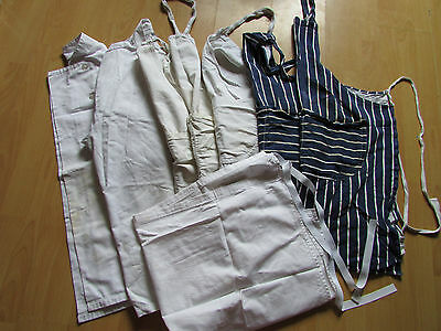Chef's Whites and Aprons Job Lot