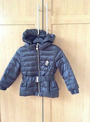 Girl black down jacket (size 4yo)
