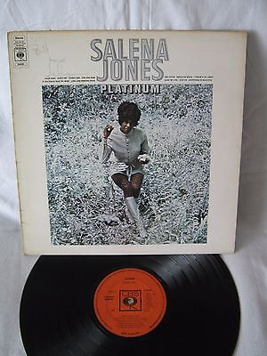 Salena Jones-Platinum Vinyl LP 1971 Very Rare Soul Album SIGNED