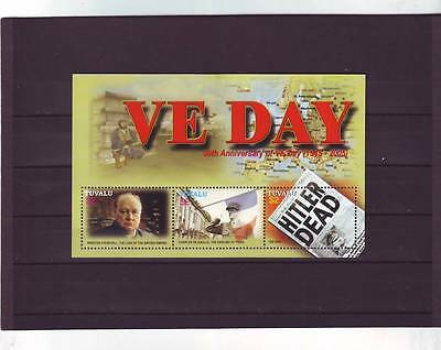 TUVALU - SGMS1168 MNH 2005 60th ANNIV OF VICTORY IN EUROPE