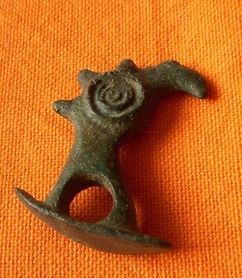 A218.Romano/Celtic style bronze decoration.Eagle.