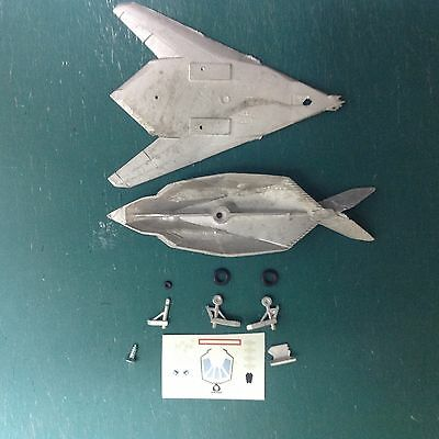 Eclipse Models Lockheed F117, unfinished 1:200th scale model with decals