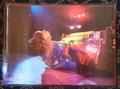 Original/keith Emerson Poster/ Robert Ellis/big O Posters/playing Organ On Floor