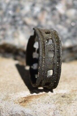 old antique medieval rings about 9-13 century Vikings copper, bronze